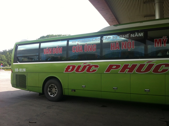 passenger car from Hanoi to Ha Long - Duc Phuc car company