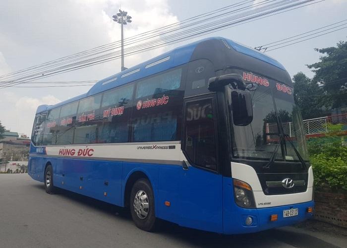 passenger car from Hanoi to Ha Long - Hung Duc car company