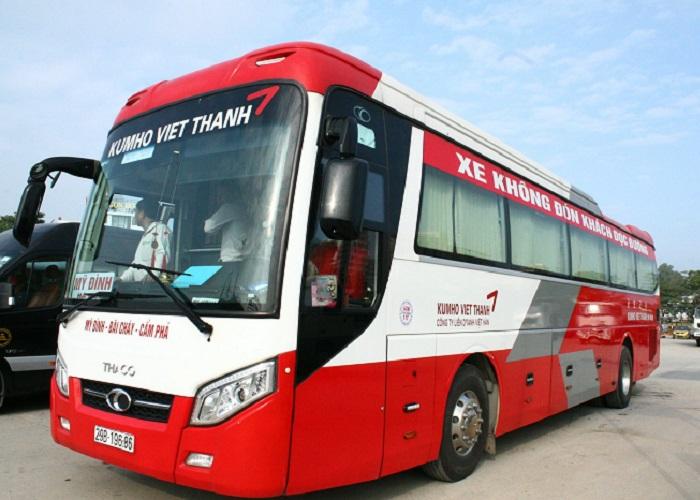 passenger car from Hanoi to Ha Long - Kumho Viet Thanh