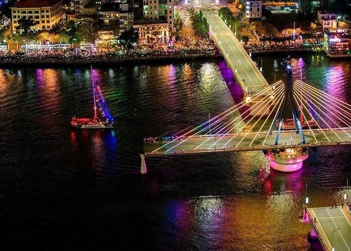 Cầu quay sôngHàn