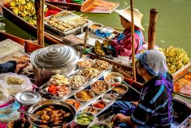 Theo Tour Một Ngày Khám Phá Chợ Nổi Thái Lan