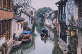 """Kinh nghiệm đi Giang Tô - Ngẩn ngơ trước """"Venice Phương Đông"""" - trấn cổ Châu Trang"""