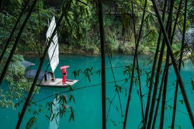 Kinh nghiệm đi du lịch Kinh Châu Cổ Trấn - Check-in khung cảnh đẹp mê hồn