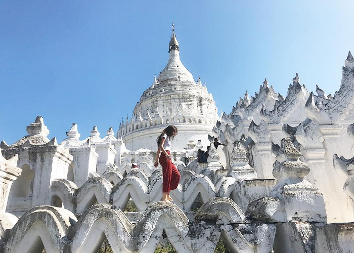 Chùa Voi trắng, Myanmar