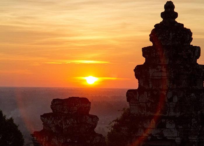 Đỉnh Bakheng, Siem Riep