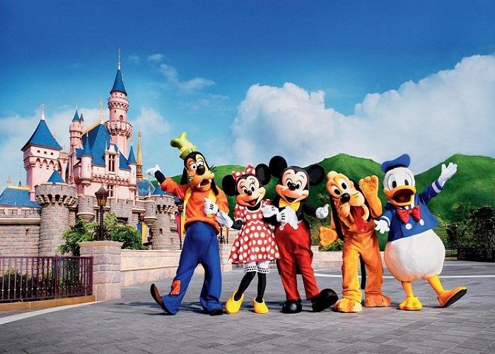 Công viên Disneyland - Thế giới trò chơi