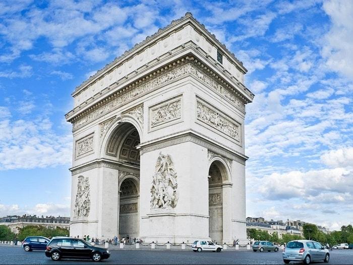 Khải Hoàn Môn, Du lịch châu Âu