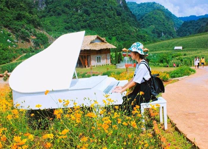 Khu du lịch Happy land - một điểm đến đang được yêu thích khi đi tour Mộc Châu