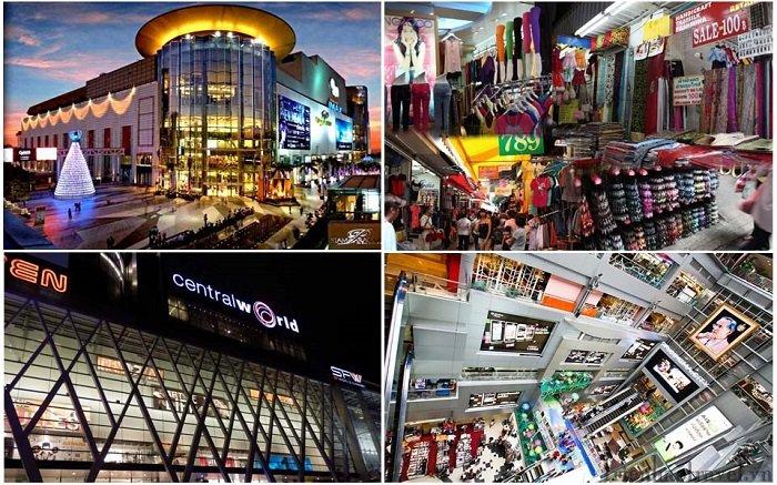 Các trung tâm mua sắm lớn ở Bangkok