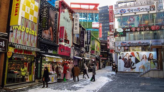 Phố đi bộ Myengdong