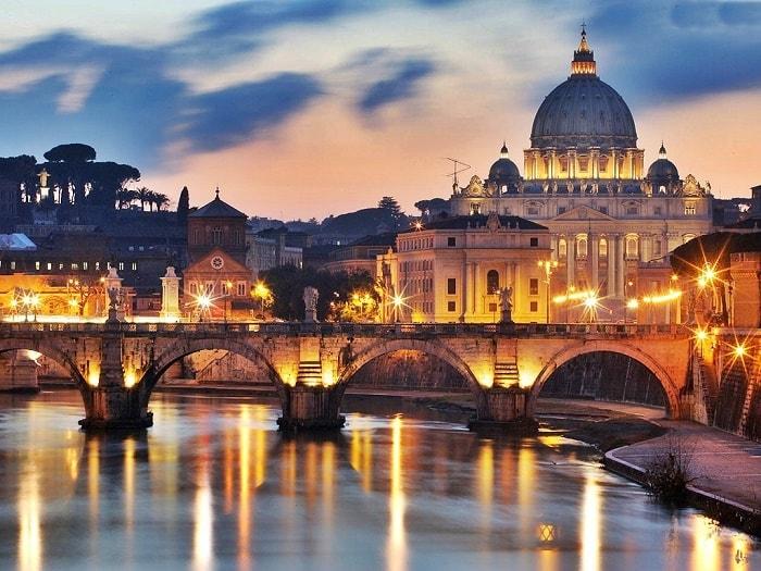 Ghé thăm Rome, Ý