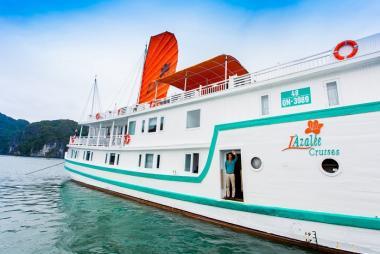 Hà Nội - Hạ Long 2N1Đ, Du thuyền Lazalee Deluxe + Thủy Phi Cơ, tour Free & Easy