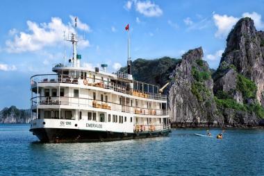 Hà Nội - Hạ Long 2N Bằng Thủy Phi Cơ - Du Thuyền Emeraude Cruise 5 sao