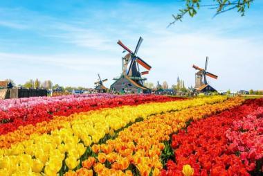 Hà Nội - Pháp - Luxembourg - Đức - Bỉ - Hà Lan - làng cổ tích Giethoorn  9N Bay Qatar Airways