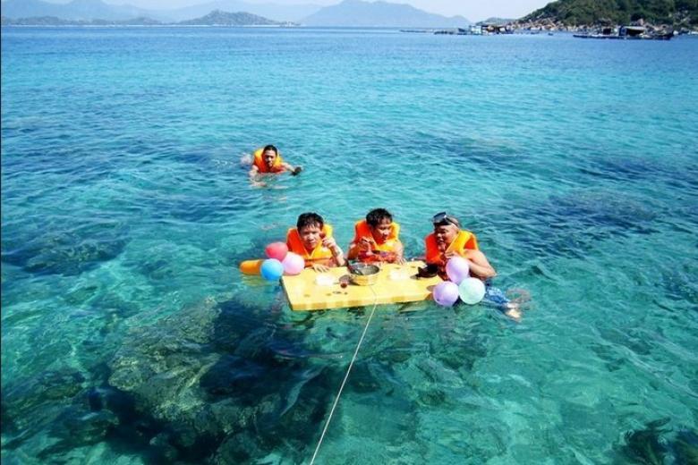 lặn biển đảo bình ba