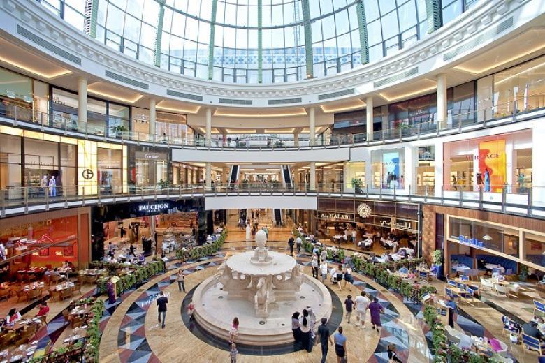 Trung tâm mua sắm ở Dubai