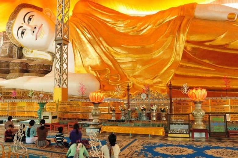 Chùa Phật nằm Shwei Tha Lyaung