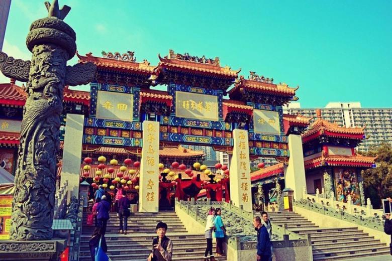 chùa Wong Tai Sin Hồng Kông