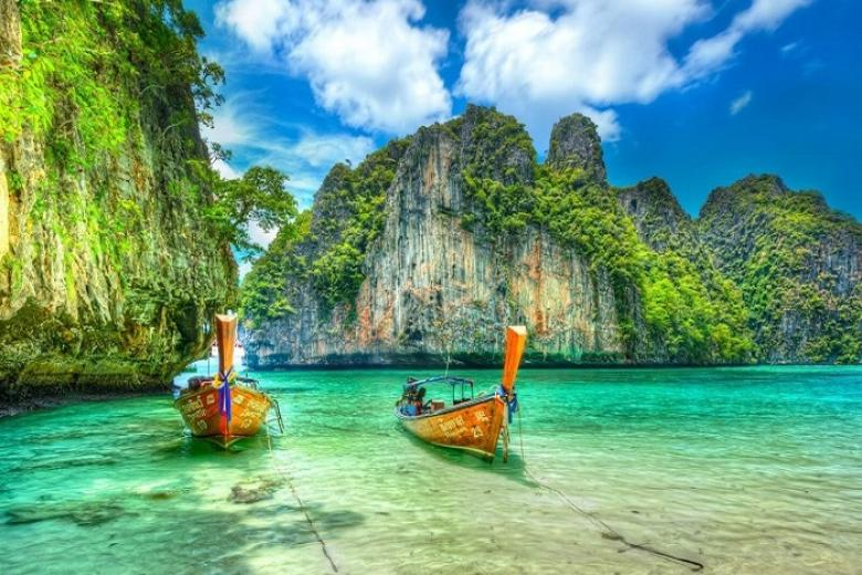 HCM - Phuket - Đảo Phi Phi - Vịnh Phang Nga 4N3Đ Bay Vietjet