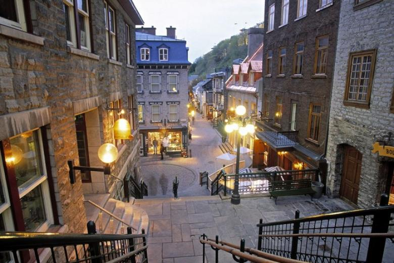 Khu phố cổ Quebec