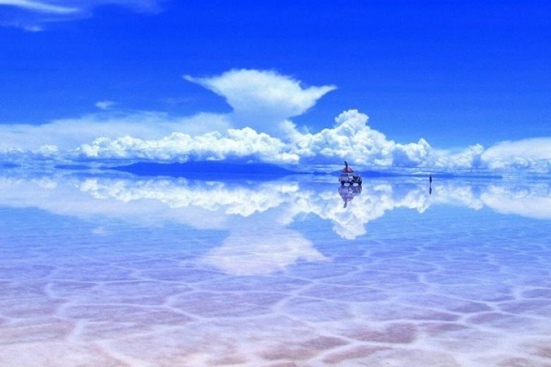 Hồ muối Salar de Uyuni