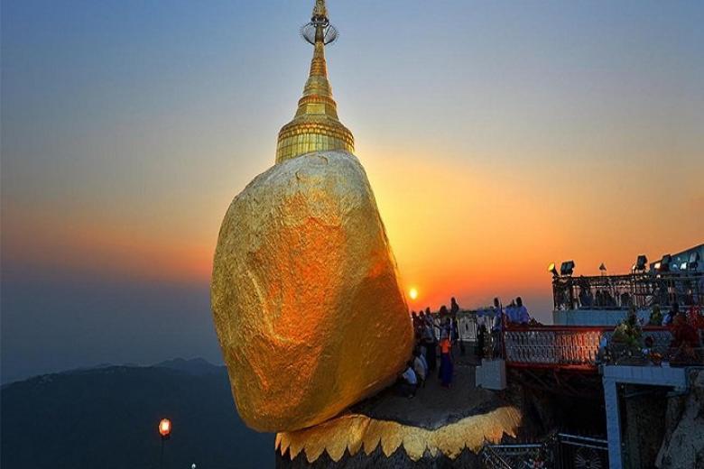 HN - Yangon - Bago - Chùa Hòn Đá Vàng 4N Bay VJ