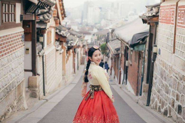 Trải nghiệm mặc Hanbok Hàn Quốc