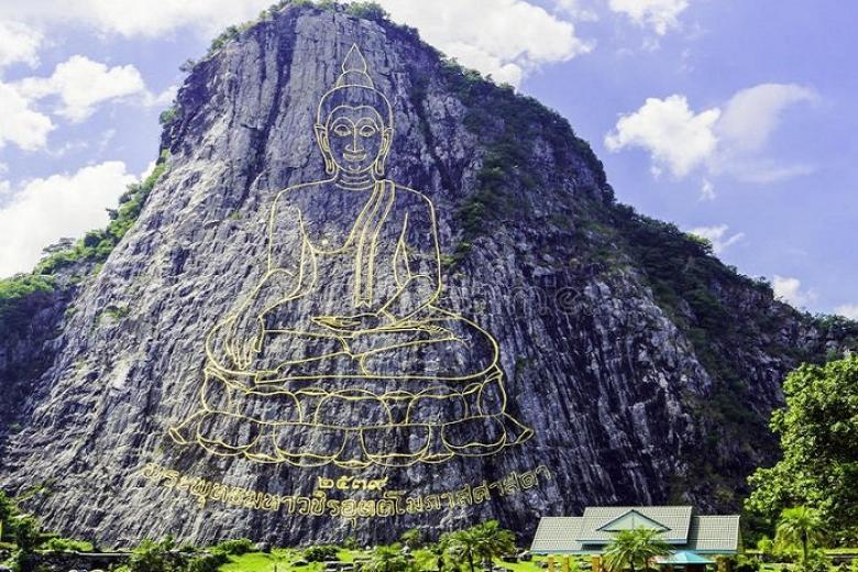 Chân Núi Phật Vàng