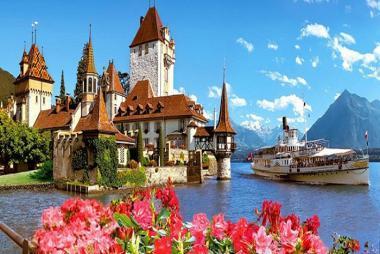 Hà Nội - Pháp - Thụy Sĩ - Ý 8N Bay Turkish Airlines