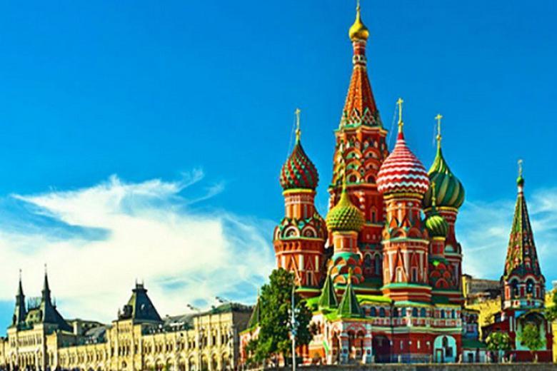 HCM - Moscow - Saint Peterburg 10 Ngày 9 Đêm Bay VN