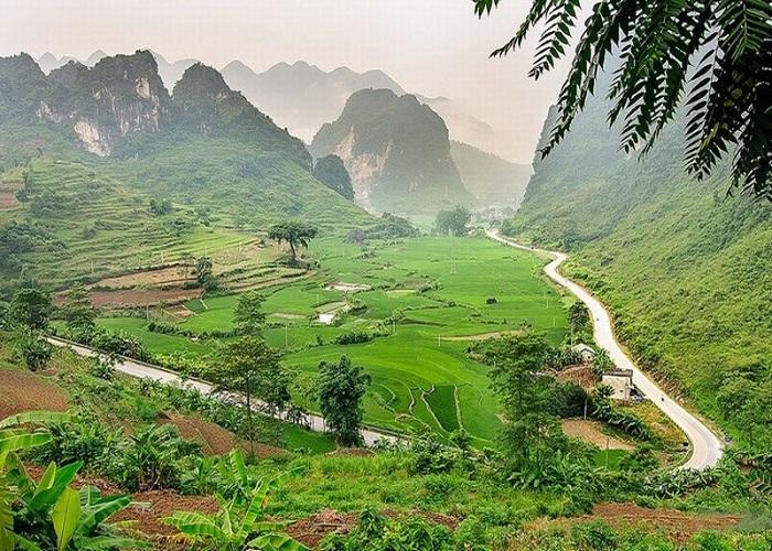 tour du lịch Cao Bằng: Đèo Mã Phục - Cao Bằng