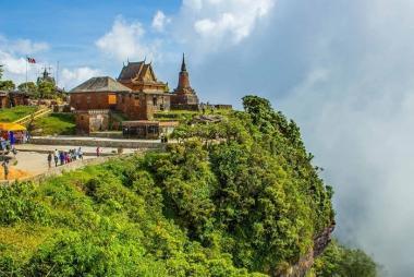 Cần Thơ - HCM - Phnom Penh - Kohrong Saloem - Cao Nguyên Bokor 4N3Đ, Resort Thansur Bokor 5*