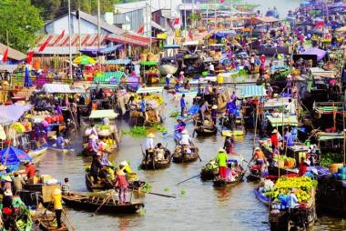 Cần Thơ - Chợ Nổi Cái Răng - Vườn Sinh Thái Bà Hiệp 1N Khám Phá Tây Đô