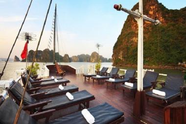 Hà Nội - Hạ Long - Cát Bà - Vịnh Lan Hạ - Đảo Khỉ 3N2Đ - Du thuyền Apricot