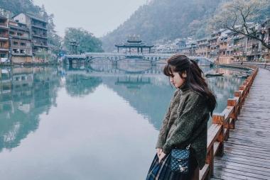Hải Phòng - Hà Nội - Trương Gia Giới - Phù Dung Trấn - Phượng Hoàng Cổ Trấn 6N5Đ đi tàu