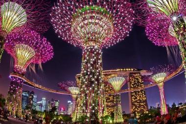 Hải Phòng - Hà Nội - Singapore - Malaysia 4N3Đ Bay Vietjet Air & Air Asia