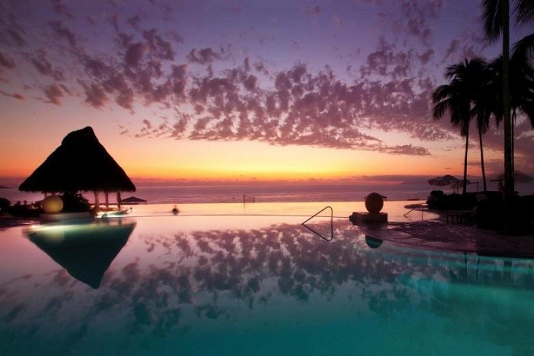 Hoàng hôn ở Maldives