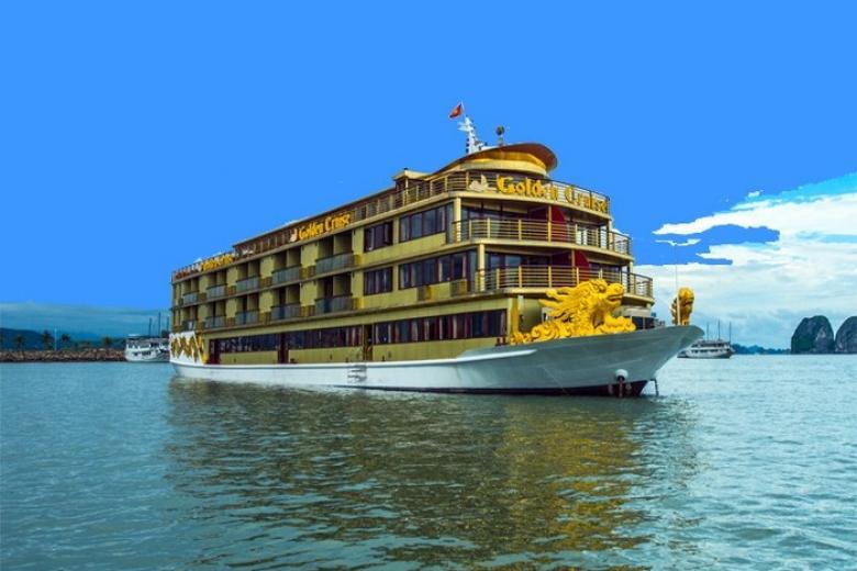 Hà Nội - Hạ Long 2N1Đ - Du thuyền Golden 5 sao