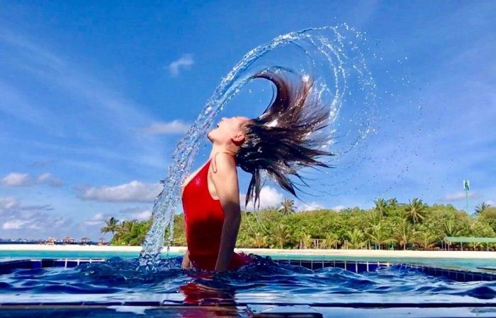 Trải nghiệm bơi lội ở Maldives