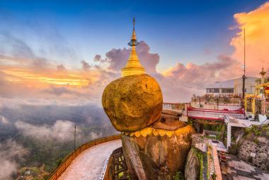 Thanh Hóa - Hà Nội - Yangon - Bago - Chùa Hòn Đá Vàng 4N3Đ Bay VJ