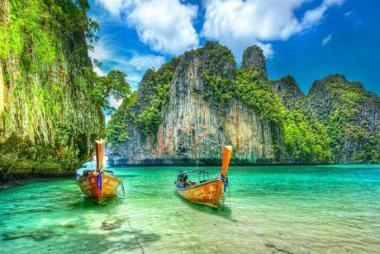 HCM - Phuket - Đảo Phi Phi - Vịnh Phang Nga 4N3Đ Bay Vietnam Airline
