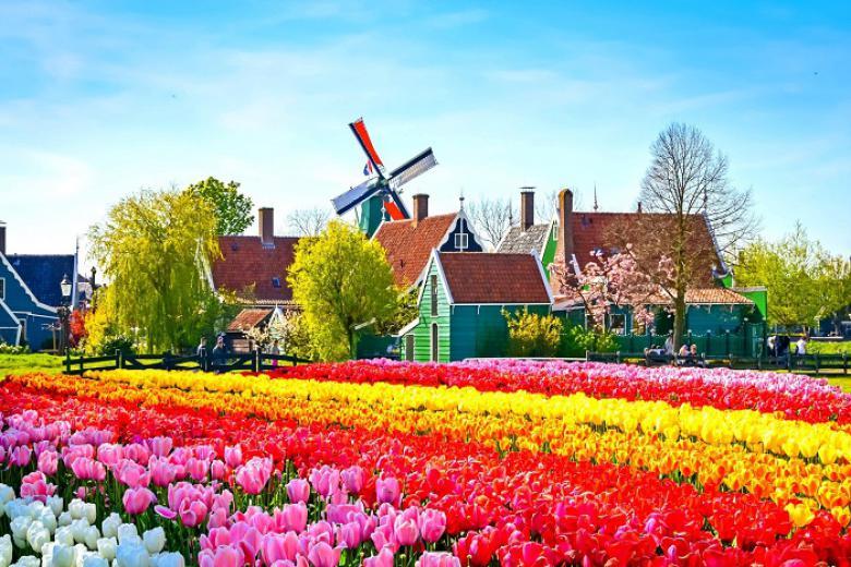 Cần Thơ - Đức - Hà Lan - Bỉ - Pháp - Luxembourg 8 Ngày Bay Vietnam Airlines