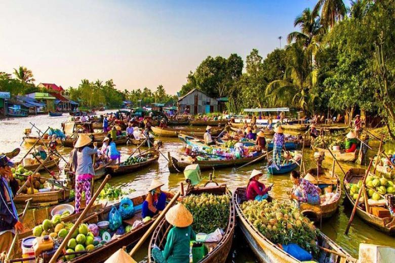 Hà Nội - Cần Thơ - Sóc Trăng - Bạc Liêu - Cà Mau - Đất Mũi - Châu Đốc 4N3Đ bay Vietnamairlines