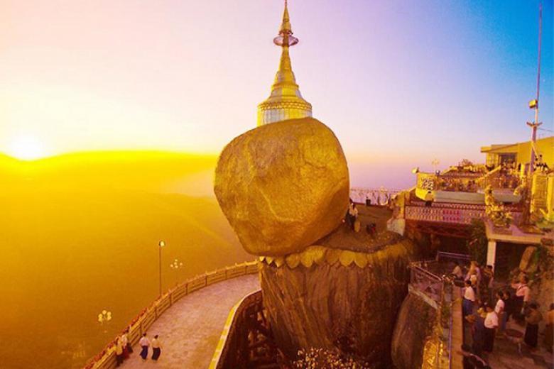Buôn Ma Thuột - HCM - Yango - Bago - Golden Rock 4N3Đ + Bay Vietnam Airlines