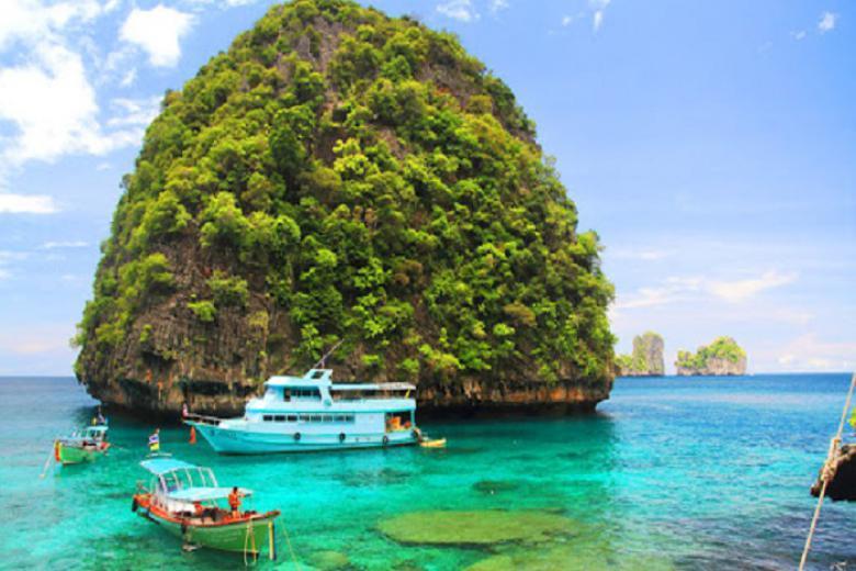 Cần Thơ - HCM - Phuket - Đảo Phi Phi - Vịnh Phang Nga/City Tour 4N3Đ Bay Vietnam Airline