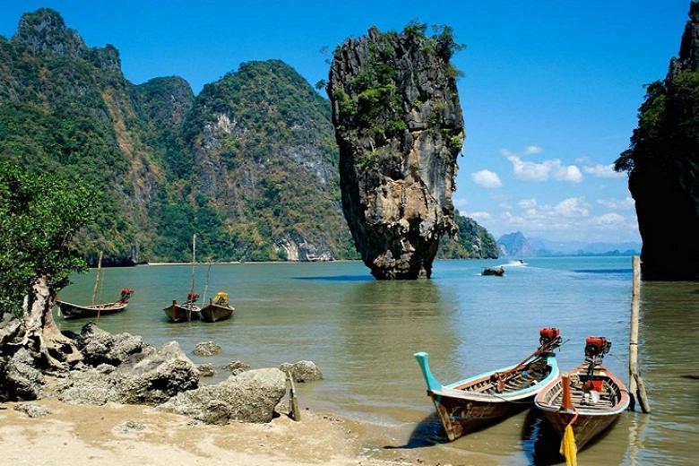 Buôn Ma Thuột - HCM - Phuket - Đảo Phi Phi - Vịnh Phang Nga/City Tour 4N3Đ Bay Vietnam Airline