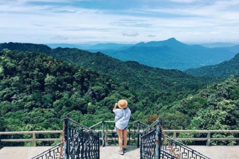 Check-in ở vườn quốc gia Bạch Mã