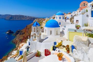 HCM - Athens - Peloponnese - Santorini 8N7Đ