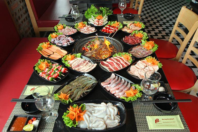 Bufet hải sản kiểu Thái