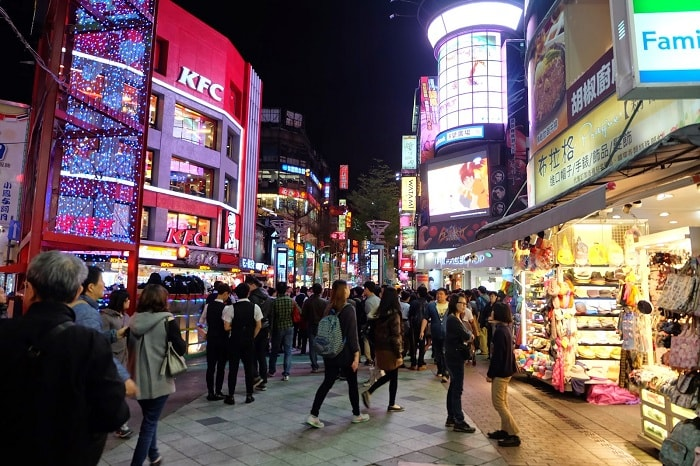 Du lịch Đài Loan: Chợ đêm Tây Môn Đinh